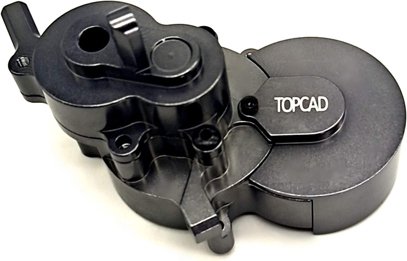 Titanium TOPCAD Aluminum Gearbox housing kit and Gear Cover for Redcat Gen8