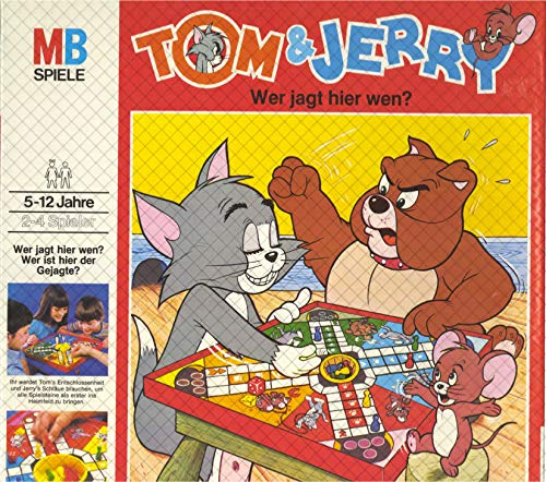 Tom & Jerry - Wer jagt hier wen? MB Spiele