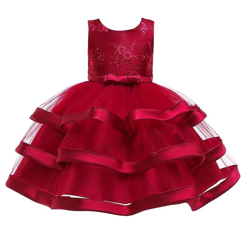 Jeterndy Children's Dress Girls Christmas Dress Kids Dress Children's Skirt New Year Costume Children's Clothing Snow White Dress (Color : Red, Size : 150cm)