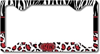 Top 10 Best Zebra Monogram License Plate									Reviews Of 2021