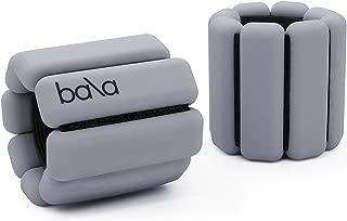 Bala Bangles | Fully Adjustable Wearable Wrist & Ankle Weights | Yoga, Dance, Running, Barre, Pilates, Cardio, Aerobics, Walking | 1 Pound Each, 2 Per Set