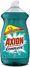 Axion Complete, Lavatrastes Líquido, Poderoso en Plásticos, 1.1 L