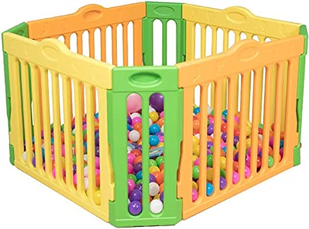 WJSW Children s Game Safety Fence  Toddler Shatter-resistant Railing Playpen Indoor Home