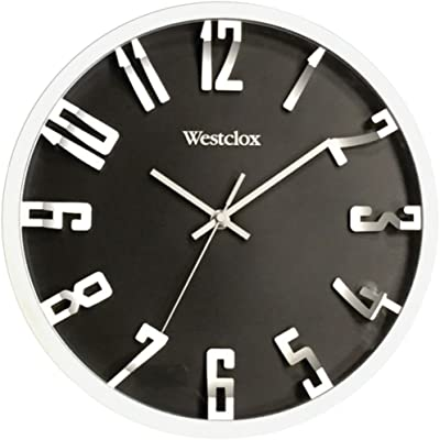 WESTCLOX 32913 12 Round 3D Number Wall Clock Home & Garden Improvement