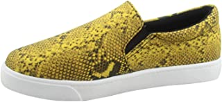 FZ-Reign-01 Women's Fashion Causal Round Toe Slip On Flat Heel Sneaker Shoes