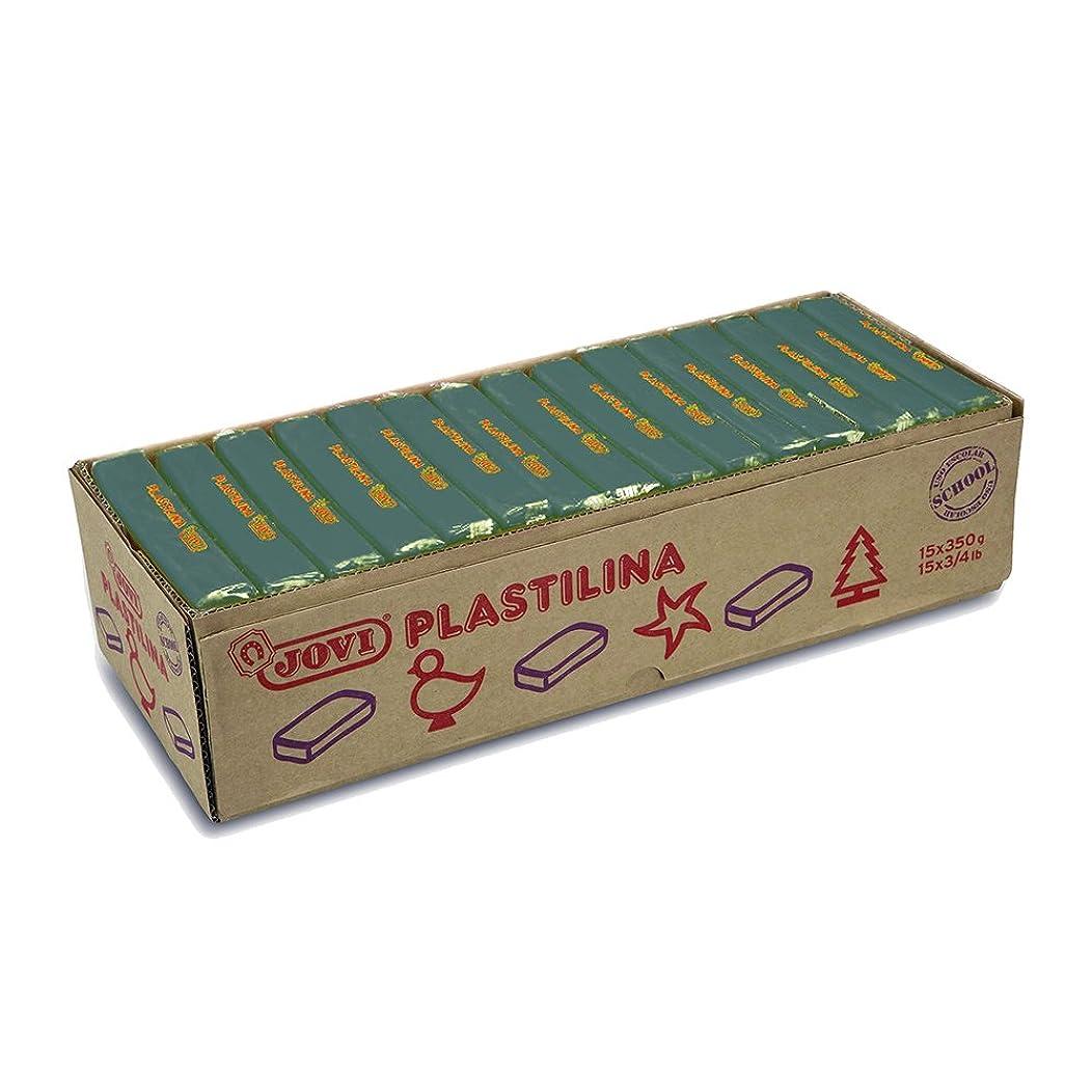 Jovi?–?Box of Clay, 15?Tablets 350?gr, Dark Green (7211)