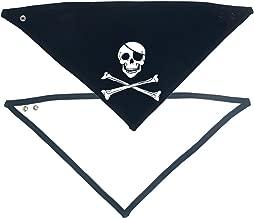 Racker-n-Roll PIRAT doodskop baby bandana Bib navy...