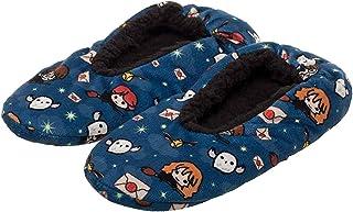 Harry Potter Slippers Allover Chibi Character Design No-Slip Slipper Socks For Women Men