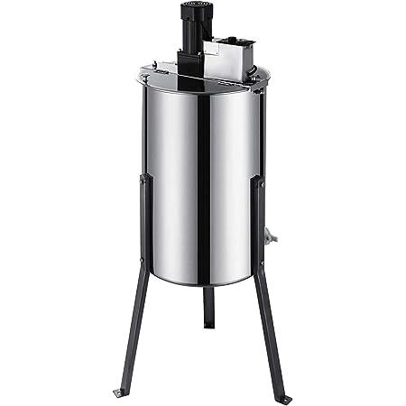 Pro 2//4 Frame Stainless steel Manual Bee Honey Extractor Beekeeping Equipment US