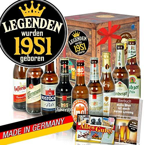 Legenden 1951 ++ DDR Bier Geschenk ++ Geburtstagsgeschenke Freund