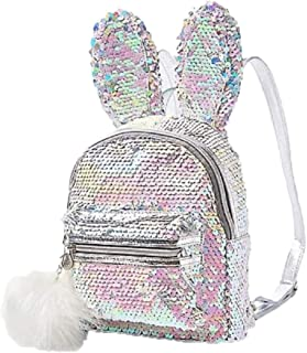 Justice Bunny Flip Sequin Mini Backpack