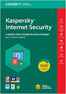 Kaspersky Internet Security - Multidispositivos - 3 Dispositivos, 1 ano (Digital - Via Download)