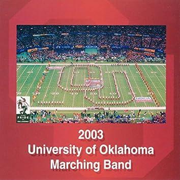 2003 University of Oklahoma Marching Band
