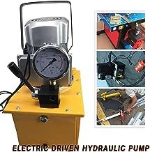 Hydraulic Pump TBVECHI 110V 63MPa Electric Driven Hydraulic Pump 10000PSI Single Acting Manual Valve