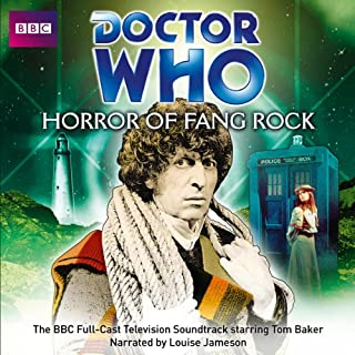 Doctor Who: Horror of Fang Rock                   By:                                                                                                                                 Terrance Dicks                               Narrated by:                                                                                                                                 Louise Jameson (linking narration),                                                                                        Tom Baker                      Length: 1 hr and 56 mins     21 ratings     Overall 4.8