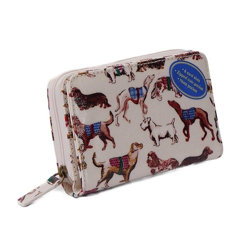 今疑い者利用可能(キャスキッドソン) Cath Kidston ミニ財布 POCKET PURSE ポケットパース 784863 レディース OYSTER SHELL Mini Sketchbook Dogs [並行輸入品]