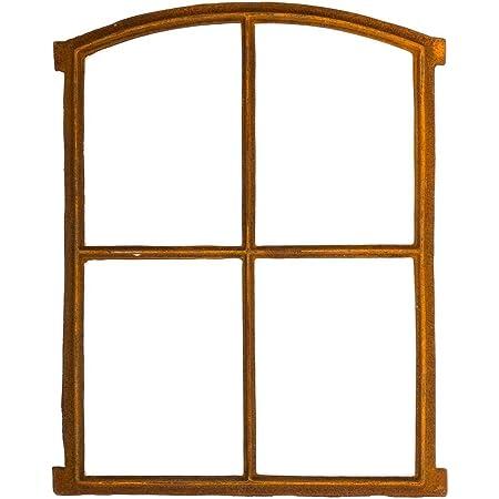 Stallfenster Fenster zum /Öffnen Scheunenfenster Eisen Rost 74cm Antik-Stil