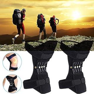 GBHJJ Powerlift knäskydd booster, knäskydd för leder, med helt justerbar rem för män/kvinnor svaga ben artritiska knän, me...