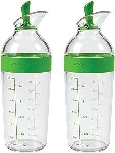 OXO Good Grips Salad Dressing Shaker, Green (2 Pack)