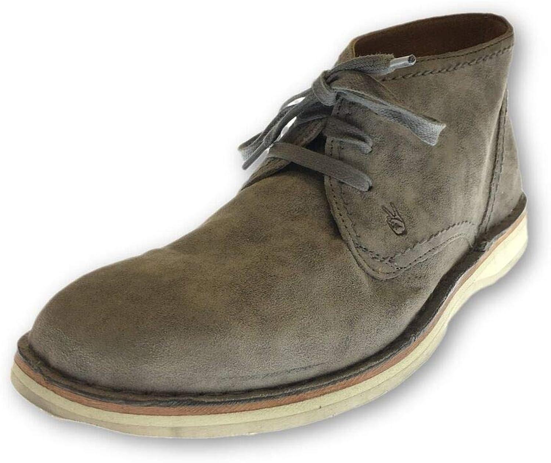John Varvatos Star USA 'Hipster Chukka' shoes in Grey Suede 7