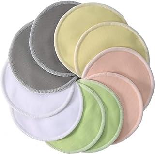 Waterproof Bamboo Reusable Breast Nursing Washable Soft Organic Pads 8pcs.