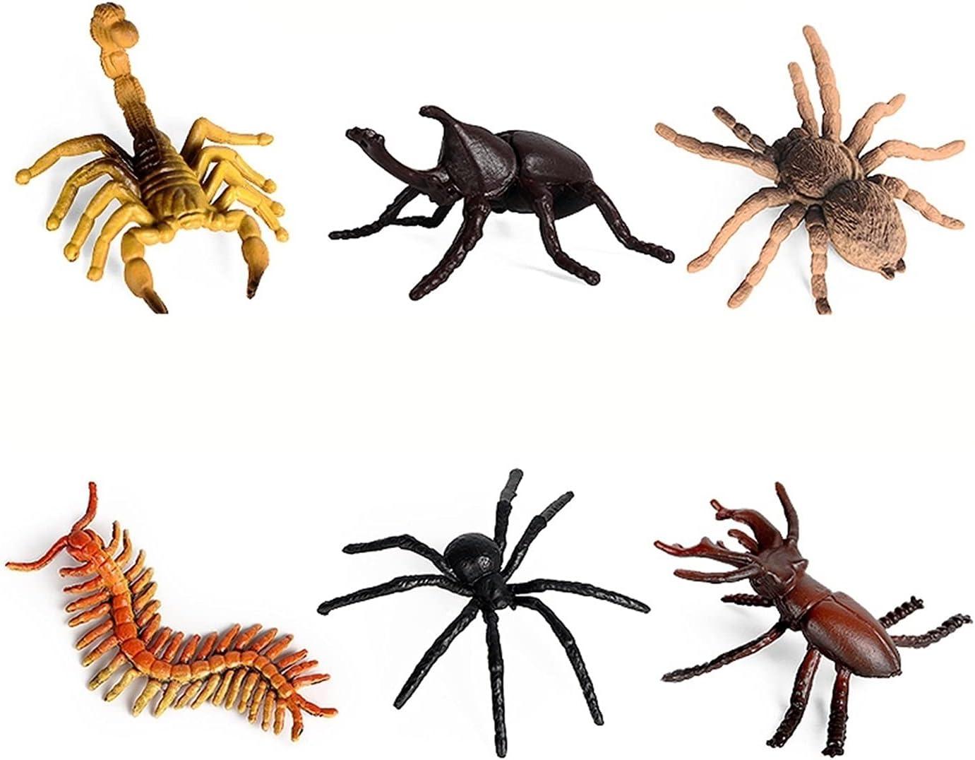 DUANCUICUIZ Model 12 Pieces of Import Mant Mini Animal Spider Bee Kansas City Mall