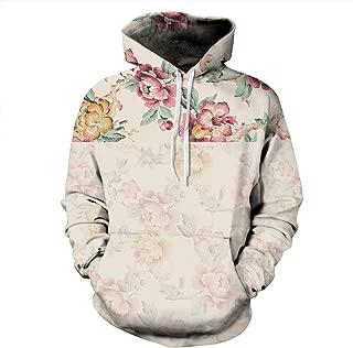 Unisex Novelty Hoodies 3D Digital Print Sweatshirt Pockets Pullover