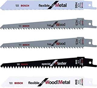 comprar comparacion Bosch - Hojas de sierra intercambiables (set de 5 piezas)