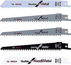 Bosch - Hojas de sierra intercambiables (set de 5 piezas)