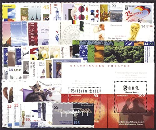 Goldhahn BRD Bund Jahrgang 2004 postfrisch  MNH komplett Briefmarken für Sammler