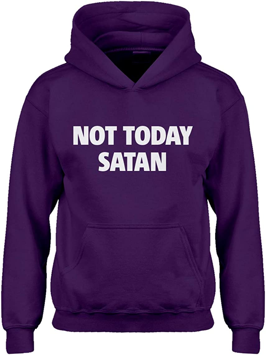 Not Today Satan Hoodie for Kids
