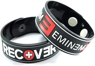 EMINEM EMINEM 2PCS New! Bracelet Wristband 2X 4A5