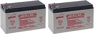 Enersys NP7-12 12V 7Ah Sealed Lead Acid Battery (2)