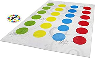 ツイスターゲーム クラシックなツイストパーティーゲーム、2人以上のプレイヤーを収容できるクラシックなボードゲーム、6歳以上の子供向けの屋内および屋外ゲーム