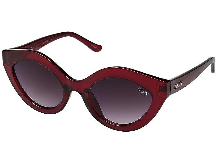 QUAY AUSTRALIA Goodnight Kiss (Red/Purple Fade) Fashion Sunglasses