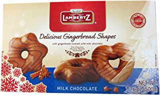 Henry Lambertz - Milk Chocolate Covered Lebkuchen Shapes - 500g/17.6 Oz