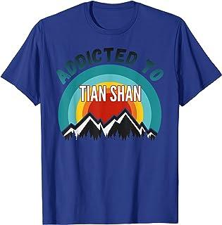 Addicté aux montagnes de Tian Shan T-Shirt