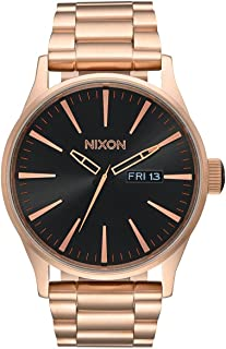 Nixon Mens Analogue Quartz Watch with Stainless Steel Strap A356-1932-00