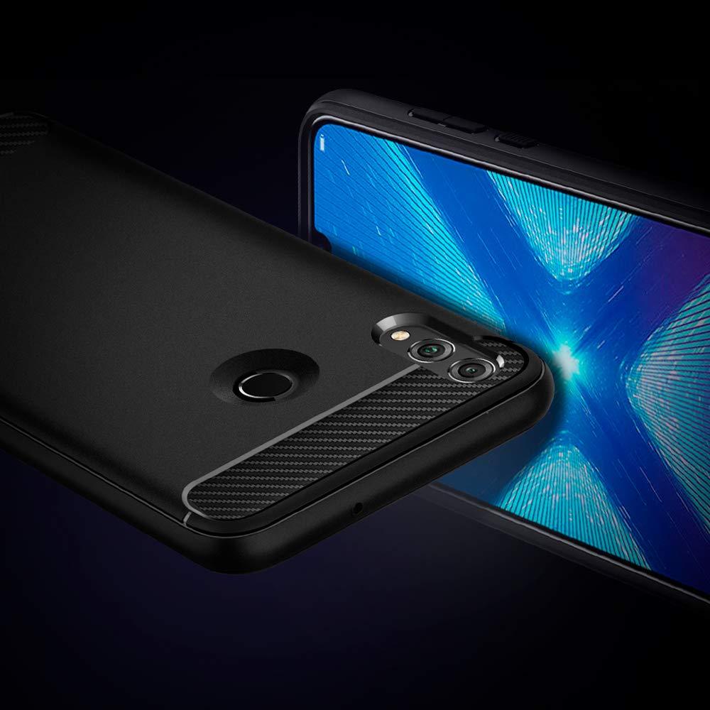Spigen, Funda para Huawei Honor 8X 2018,[Rugged Armor] Absorción ...