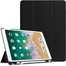 "FINTIE Custodia per iPad Air 10,5"" 2019 (3a Gen) / iPad PRO 10,5"" Pollici 2017 con Built-in Apple Pencil Holder - Ultra Sottile Leggero Case Cover con Auto Sveglia/Sonno Funzione, Nero"