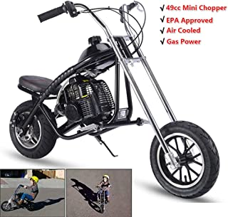 SAY YEAH Gas Mini Chopper 49cc 2-Stroke Dirt Bike EPA Certification Air Cooled for Kids Scooter