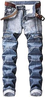 Men's Fashion Stretch Slim Fit Jeans Size US 30-40