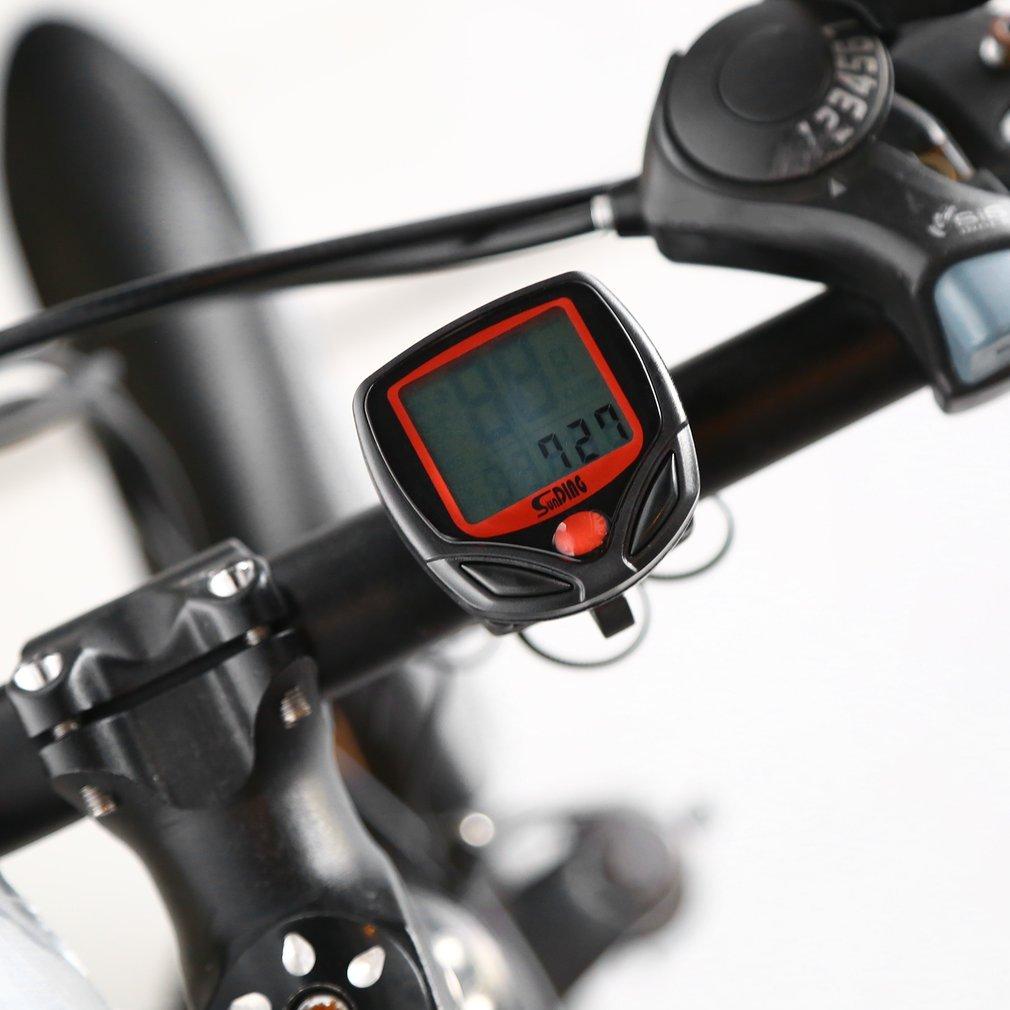 YTCDX - Reloj de Pulsera para Bicicleta (Pantalla LCD, Odómetro, Cronómetro, SD-548B): Amazon.es: Deportes y aire libre