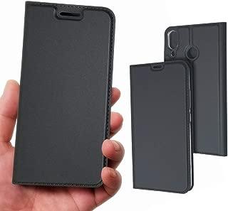 Asus Zenfone 5z ZS620KL / Zenfone 5 ZE620KL カバー ケース ゼンフォン5 ゼンフォン5z Asus ゼンフォン Zenfone5z ZS620KL / Zenfone5 ZE620KL ケース 手帳型 携帯ケース 手帳型 おしゃれ 手帳型ケース 携帯カバー 財布ケース 手帳 case 【iCoverCase】 内蔵マグネット 携帯電話ケース カードポケット スタンド機能 シンプル 軽量 超薄型 【選べる4色】 ブラック 薄い黒 【ライトブラック】