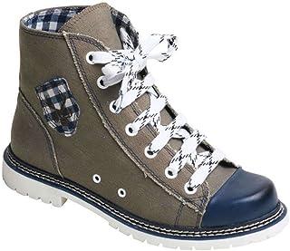 Spieth & Wensky Damen Sneaker Jacky helloliv/blau rustikal, helloliv/blau, 36
