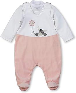 Strampler f/ür Babys M/ädchen Blumenmuster Strampler 100 /% Baumwolle Jungen Dschungeltier-Motiv passende M/ütze Schlafanzug Rosen