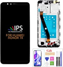 A-MIND LCD Screen Replacement for Huawei Honor 7X/ Huawei Mate SE BND-TL10 BND-AL10 BND-L21 BND-L22 BND-L24, Touch Screen Full Assembly Frame Replacement Parts,Professional Tools Include