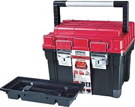 Patrol Group SKRC1HDCZEPG001 HD Compact 1 gereedschapskoffer box gereedschapskist 450x350x350 aluminium handvat rood