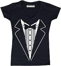 Best tuxedo v-neck t-shirt Reviews