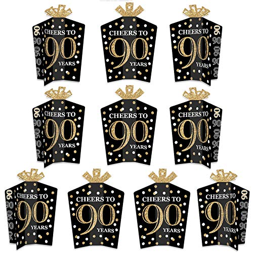 Cheers to 90 Years Table Centerpieces